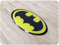 Batman Domed Badge 1