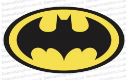 Batman 1 Sticker