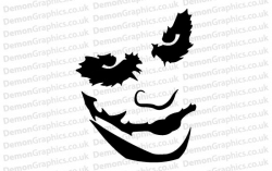 Batman Joker Sticker
