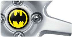 Wheel Centre Badges - Batman (set of 4)