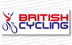 Cycling Decal (Pair of) British Cycling