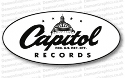 Capitol Records 1 Sticker