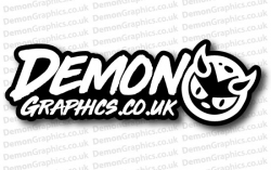 Demon Graphics 4 Sticker