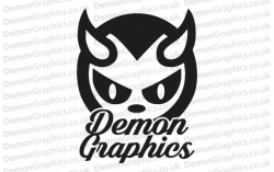 Demon Graphics 1 Sticker