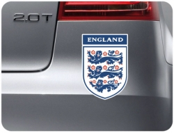 England 3 lions Sticker