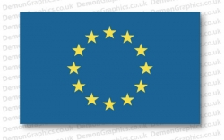European Union Flag (Pair)
