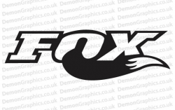 Bike Decal (Pair of) Fox 2