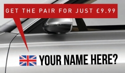 GB Rally Tag £9.99 for both sides