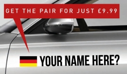 Germany Tag £9.99 for both sides