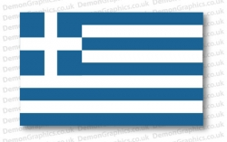 Greece Flag (Pair)