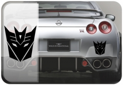 Transformers Decepticons JDM Graphic