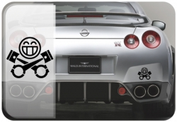JDM Pistonheads Decal