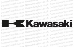 Bike Decal (Pair of) Kawasaki 7