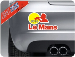 Le Mans Drinking 2014 Sticker