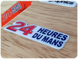 Le Mans Sticker Domed