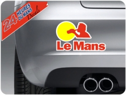 Le Mans Drinking Sticker