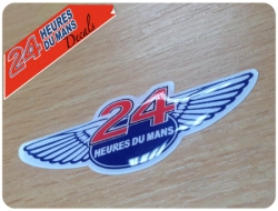 Le Mans Wings Sticker Domed