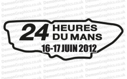 Le Mans 2012 Sticker