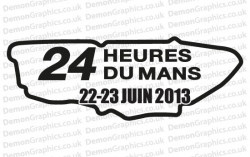 Le Mans 2013 Sticker