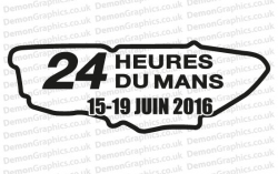 Le Mans 2016 Sticker