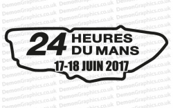 Le Mans 2017 Sticker