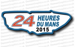 Le Mans 24 Track 2015 Sticker