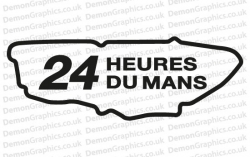 Le Mans Sticker