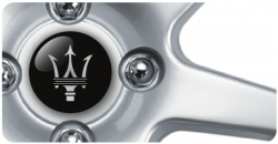 Wheel Centre Badges - Maserati (set of 4)