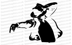 Michael Jackson 3 Sticker