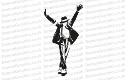 Michael Jackson 7 Sticker