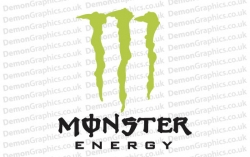 Bike Decal (Pair of) Monster 1