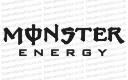 Bike Decal (Pair of) Monster 3