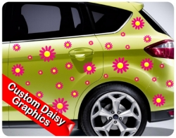 Custom Daisy Graphics (40 per sheet)