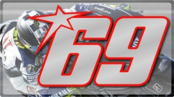 Racing Numbers Nicky Hayden
