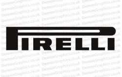 Pirelli Sticker # 1 (Pair of)