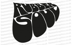 The Beatles Rubber Soul Sticker