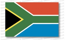South Africa Flag (Pair)