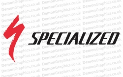 Cycling Decal (Pair of) Specialized