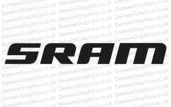 Cycling Decal (Pair of) SRAM