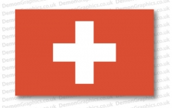 Switzerland Flag (Pair)