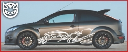 Car Graphics 023 £75.00 both sides