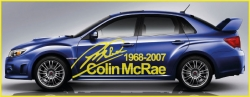 Subaru McRae Signature Side Graphics