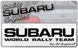 Subaru World Rally Team (pair)