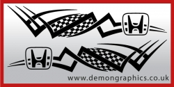Logo tribal : Honda £19.99 both sides