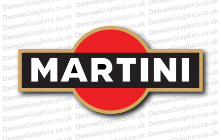 Martini Sticker
