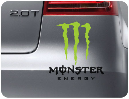 Monster Sticker 1 (pair of)