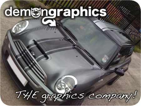 Racing Stripes Car Graphics By Demon Graphics Makers Of High - Car decal maker online