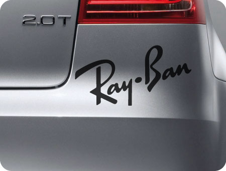 Ray Ban sticker