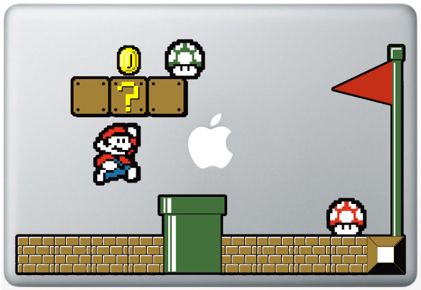 MacBook Super Mario Bro's