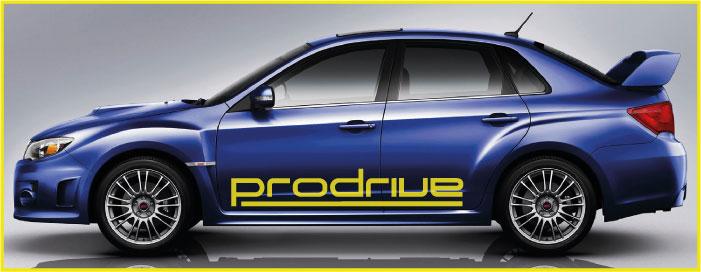 Sunstrip 161 Subaru Prodrive Sunstrip 161 Subaru
